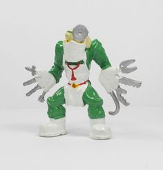 Monster Wrestlers In My Pocket - W45 Dr. Suture Self - Figures - Retro Toys