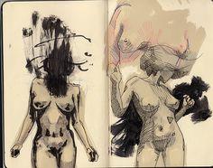 Summer sketchbook on Behance Victor Rico