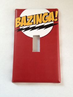 Bazinga Big Bang Theory Sheldon Light Switch Covers Wallplates Switchplates Home Decor Outlet 14 STYLES AVAILABLE