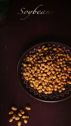 Turmeric n spice: Roasted masala soybean
