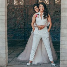 Take a look at this gorgeous Maitland, Florida Miss Missouri Lesbian Wedding by Steph Grant Photography in Dallas, Texas. V Neck Wedding Dress, Classic Wedding Dress, Casual Wedding, Wedding Suits, Wedding Dresses, Miss Missouri, Lesbian Wedding Photography, Lgbt Wedding, Lesbian Beach Wedding