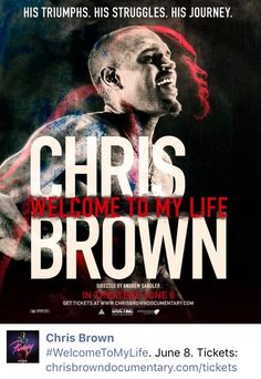 Chris Brown #June 8th #Documentary #WelcomeToMyLife #RivetingEntertainment