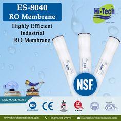 ES-8040 RO Membranes. http://www.hitechmembranes.com/product/es-8040/