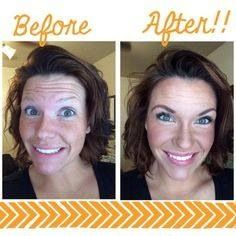 If Touch foundation hasn't touched your face, you're missing out!  Ask me how to try them risk free!