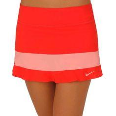 Maria Sharapova Premier Jupe daring red/bright peach