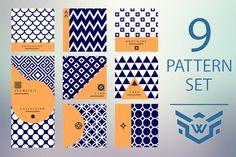 9 Geometric Pattern in Modern Style by Weeknd