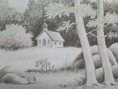 Landscape  - Sketching by Akanksha Harjai at touchtalent 18347