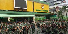 Prajurit TNI 1 SSK Disebar di Jakarta Barat
