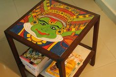 18 Ideas Funky Painted Furniture Ideas Dining Rooms For 2019 Funky Painted Furniture, Diy Pallet Furniture, Furniture Makeover, Furniture Ideas, Furniture Design, Ethnic Home Decor, Indian Home Decor, Diy Home Decor, Decor Crafts