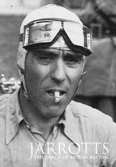 Jarrotts the image of Motor Racing - Tazio Nuvolari.