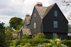 Turner-Ingersoll Mansion - House of Seven Gables - Hawthorne
