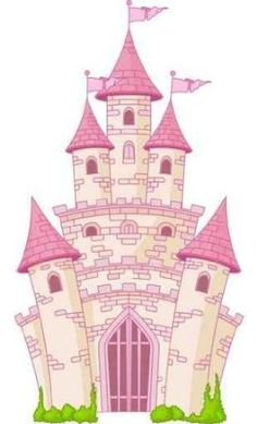 Magic Castle Peel and Stick Wall Decal by (or DIY with paint)