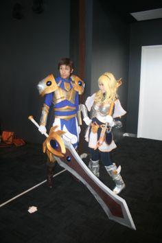 Garen and Lux - League of Legends Supernova Brisbane 2013 Photo by Tabitha Egan
