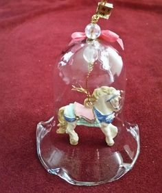 Carrousel Horse Bell Ornament/Hand Painted Carousel Horse Bell/Hanging Horse Bell Ornament/Hand Painted Carousel Bell Ornament/Horse Bell by NatomisTreasures on Etsy