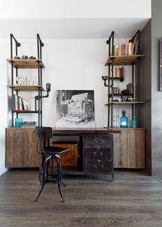 10 oficinas en casa que se merecen un 10 #hogarhabitissimo #homeofice #industrial