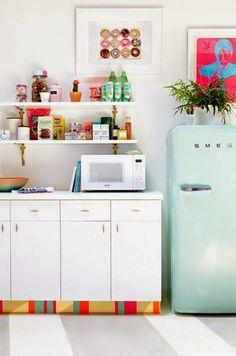 8 Rooms That Prove Smeg Fridges Are The Key To A Fabulously Retro Kitchen
