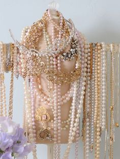 every girl needs lots of pearls and atleast one tiara