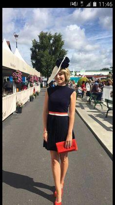 Pippa O Connor, Dublin Horse Show, Ladies Day