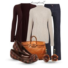 A fashion look from October 2012 featuring Jigsaw sweaters, MiH Jeans jeans and Liz Claiborne flats. Browse and shop related looks.