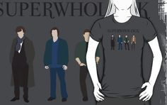 Superwholock Heroes by TheCoterie  - This is too, too perfect.