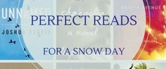 """""""Best Snow Day Reads: 19 Page-Turners To Enjoy While Snowed In""""-huffingtonpost.com"""