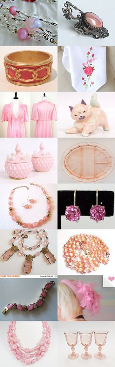 Think Pink!!! by Elisa Jenkins on Etsy--Pinned with TreasuryPin.com