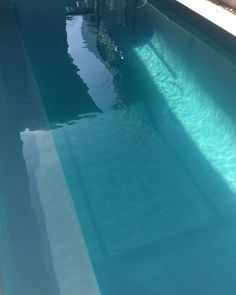 Have a dip in our non heated salt water pool . A shared space