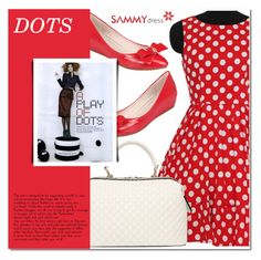 """""""Dots!"""" by ladybug-100 ❤ liked on Polyvore featuring sammydress"""