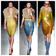 Paco Rabanne Dress 2012 | ... Winter 2011 2012 fashion Francoise Hardy dress, Paco Rabanne design