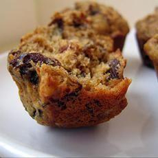 Sugarless Fruit Nut Muffins