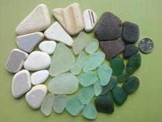 Sea glass and beach pottery mix Scottish sea glass by SewISea
