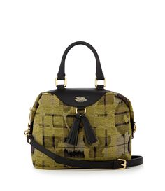 Leopard Tartan Bag 6791 Yellow
