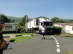 New Static Caravan Arriving at Tan Rallt Holiday Home Park, North Wales