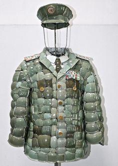 Li Xiaofeng Makes Clothing from Broken Porcelain | Hi-Fructose Magazine