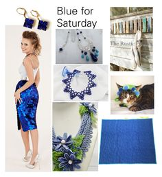 """""""Blue for Saturday"""" by varivodamar ❤ liked on Polyvore featuring Lazuli and modern"""