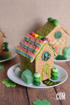 Leprechaun Houses for St Patrick's Day! Cute clothes on zulily too!