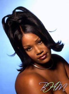 Old School Hairstyles, 2000s Hairstyles, Baddie Hairstyles, Black Girls Hairstyles, Cute Hairstyles, Hair Inspo, Hair Inspiration, Black Hair 90s, Curly Hair Styles