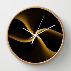Loop Wall Clock by Christine baessler - $30.00