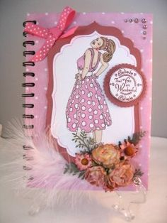 Altered Notebook with Spellbinders