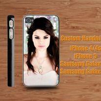 Selena Gomez Cover iPhone 4 / 4S case iPhone 5 case Samsung Galaxy S2 case Samsung Galaxy S3 / S4 case