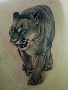 ... tattoos artcom tattoos puma tattoo mountain lion tattoos animals