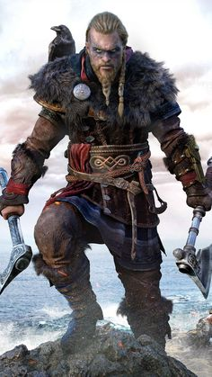 Get some Assassin's creed valhalla wallpaper HD images of Eivor, Viking, Clan game art Cover Screenshots to use as iPhone android wallpaper phone backgrounds 2160x3840 Wallpaper, Viking Wallpaper, Assassin's Creed Wallpaper, Arte Assassins Creed, Viking Character, All Assassin's Creed, Arte Nerd, Ragnar Lothbrok, Viking Warrior