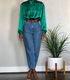 70s Outfits, Chic Outfits, Vintage Outfits, Vintage Fashion, Fashion Outfits, Girlie Style, Girly Girl, Looks Chic, Thrift Fashion