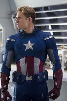Chris Evans in Marvel Los vengadores (2012)