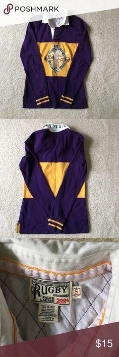 Ralph Lauren Long Sleeve Rugby Sz. S Ralph Lauren long sleeve rugby. Great for the fall/winter. Rugby Ralph Lauren Tops