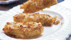 Parmesan-Crumbed Chicken - Recipe - FineCooking