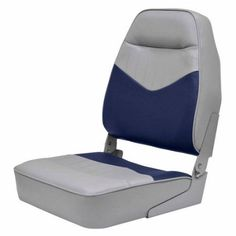 Wise #3121 Mid Back Boat Seat, Multicolor