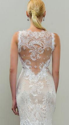 Mermaid wedding dress by Yumi Katsura  #weddingdress #lace