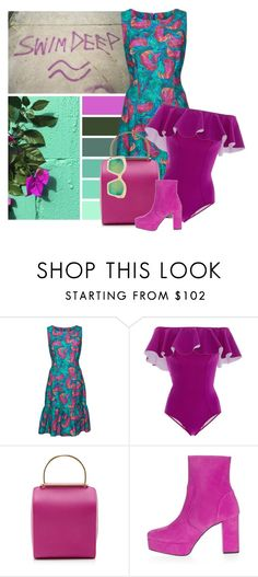 """Sink or Swim"" by cherieaustin on Polyvore featuring Isolda, Lisa Marie Fernandez, Besa Lighting, Topshop and Gucci"