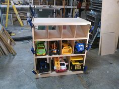 Toy Truck Storage...I think making this will be a lot cheaper than buying one!